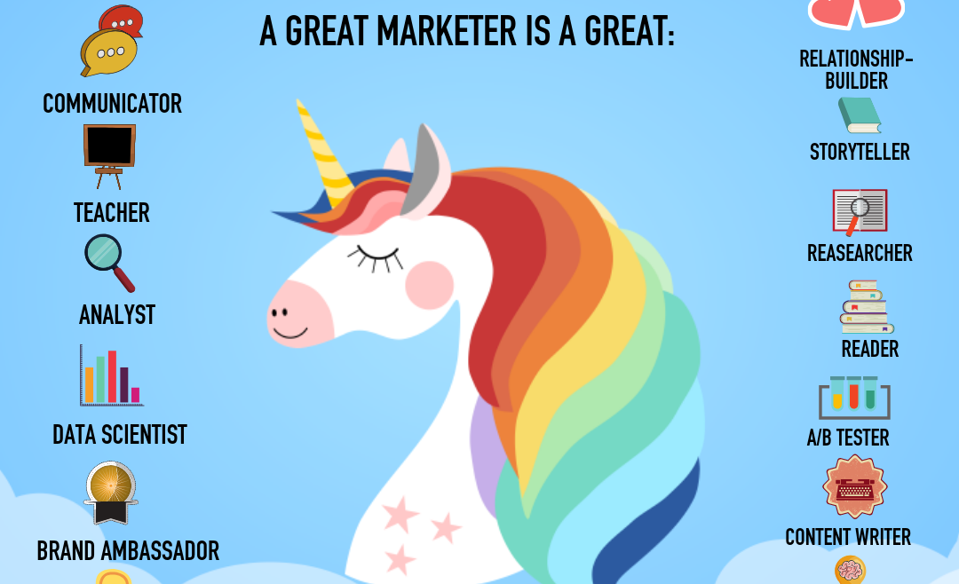 What is a unicorn marketer?