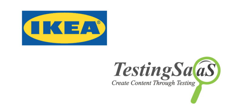 What is the connection between IKEA, playful learning and TestingSaaS?